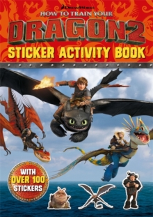 How to Train Your Dragon 2 Sticker Activity Book, Paperback