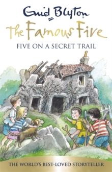 Five on A Secret Trail, Paperback Book
