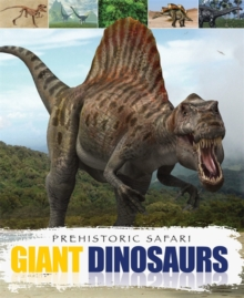 Giant Dinosaurs, Paperback Book
