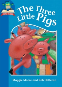 The Three Little Pigs : Level 1, title 2, Hardback Book