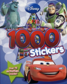 Disney Pixar 1000 Stickers, Paperback