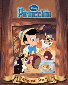 Disney Pinnochio Magical Story with Amazing Moving Picture Cover, Hardback Book