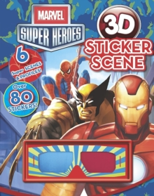 Marvel Super Heroes 3d Sticker Scene, Paperback