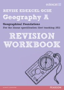 Revise Edexcel: Edexcel GCSE Geography A Geographical Foundations Revision Workbook, Paperback
