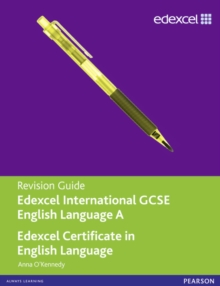 Edexcel International GCSE/certificate English A Revision Guide Print and Online Edition, Mixed media product