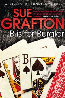 B Is For Burglar : a Kinsey Millhone Mystery, Paperback Book
