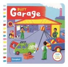 Busy Garage, Board book