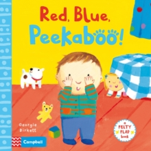 Red, Blue, Peekaboo, Board book