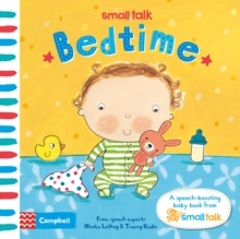 Small Talk: Bedtime : A First Book About Language for Babies, Board book