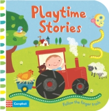 Playtime Stories : Follow the Finger Trails, Board book