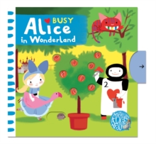 Busy Alice in Wonderland, Board book Book