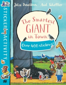 The Smartest Giant in Town Sticker Book, Paperback