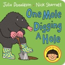 One Mole Digging a Hole, Board book Book