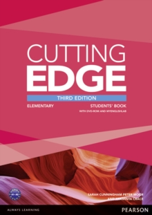 Cutting Edge Elementary Students' Book and DVD Pack, Mixed media product