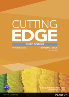 Cutting Edge Intermediate Students' Book and DVD Pack, Mixed media product Book