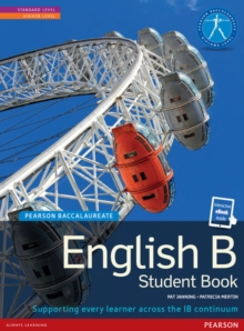 Pearson Baccalaureate English B print and ebook bundle for the IB Diploma, Mixed media product Book