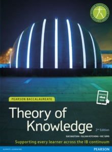 Pearson Baccalaureate Theory of Knowledge Print and eBook Bundle for the IB Diploma, Mixed media product Book