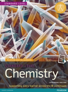 Pearson Baccalaureate Chemistry Standard Level Bundle for the IB Diploma, Mixed media product Book