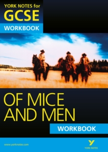 Of Mice and Men: York Notes for GCSE Workbook (Grades A*-G), Paperback