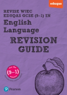 REVISE WJEC Eduqas GCSE in English Language Revision Guide, Mixed media product