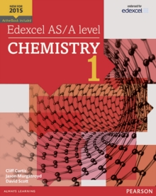 Edexcel AS/A Level Chemistry Student Book 1 + Activebook : Student book 1, Mixed media product