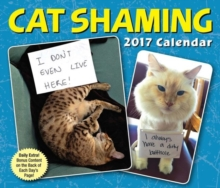 CAT SHAMING 2017 DAYTODAY CALENDAR,