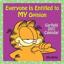 GARFIELD 2017 MINI WALL CALENDAR,