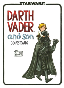 Darth Vader and Son Postcard Book, Postcard book or pack