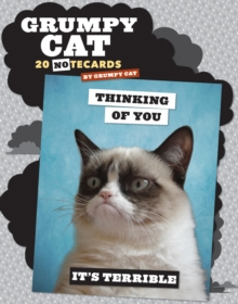 Grumpy Cat Notecards, Postcard book or pack