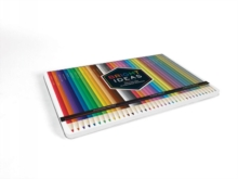 Bright Ideas Deluxe Colored Pencil Set, Kit Book