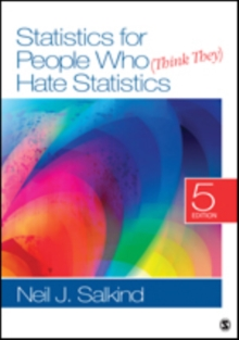 Statistics for People Who (Think They) Hate Statistics, Paperback Book
