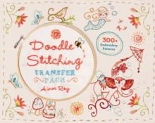 Doodle Stitching Transfer Pack : 300+ Embroidery Patterns, Spiral bound
