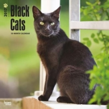 BLACK CATS 2017 WALL CALENDAR,