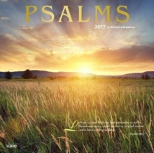 PSALMS 2017 WALL CALENDAR,