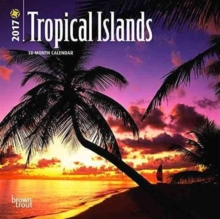 TROPICAL ISLANDS 2017 MINI WALL CALENDAR,