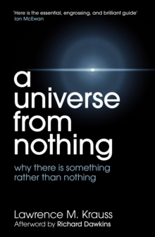 A Universe from Nothing, Paperback Book