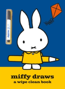 Miffy Draws : A Wipe Clean Book, Paperback