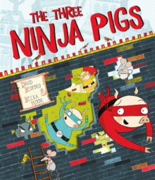 The Three Ninja Pigs, Paperback