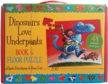 Dinosaurs Love Underpants Book and Jigsaw, Novelty book