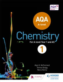 AQA A Level Chemistry Student : Book 1, Paperback Book
