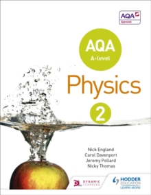 AQA A Level Physics Student : Book 2, Paperback Book