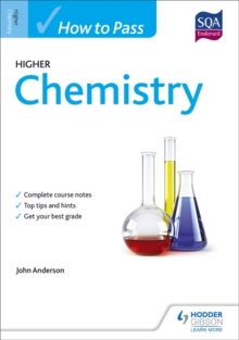 How to Pass Higher Chemistry for CFE, Paperback