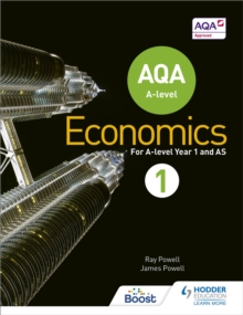 AQA A-Level Economics : Book 1, Paperback