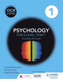 OCR Psychology for A Level : Book 1, Paperback Book
