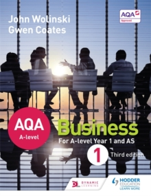 AQA A Level Business 1, Paperback
