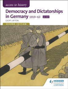 Access to History: Democracy and Dictatorships in Germany 1919-63 for OCR, Paperback