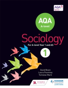 AQA Sociology for A Level : Book 1, Paperback Book