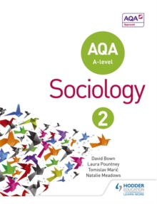 AQA Sociology for A Level : Book 2, Paperback