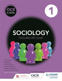 OCR Sociology for A Level : Book 1, Paperback