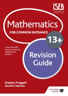 Mathematics for Common Entrance 13+ Revision Guide, Paperback Book